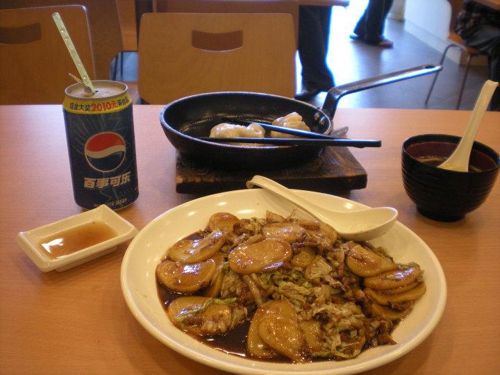 Pranzo a Shanghai